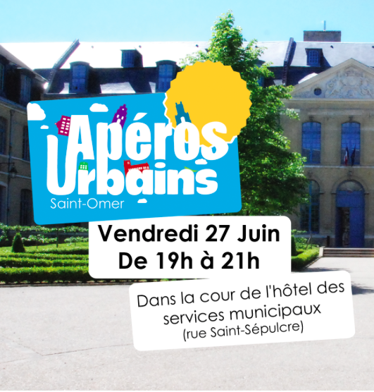 Premier apéro urbain à Saint-Omer