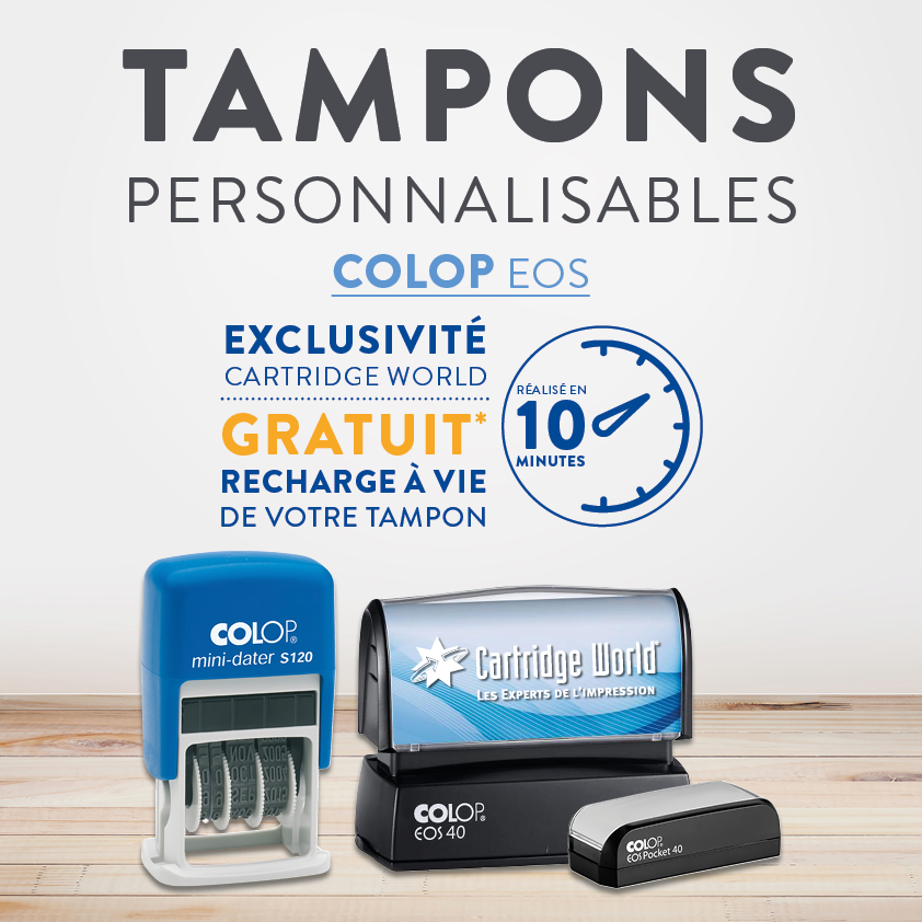Tampons Personalisables