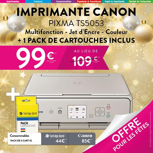 Canon TS5053 + Pack de Cartouches